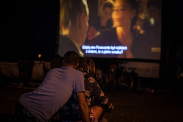 kino plenerowe, kino letnie, ekran kino plenerowe, ekran pneumatyczny, trasa kina letniego, filmowe lato