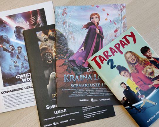 materiały graficzne, scenariusze lekcji filmowych, lekcje z filmem